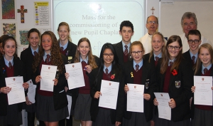 Gift Pupil Chaplaincy Commissioned